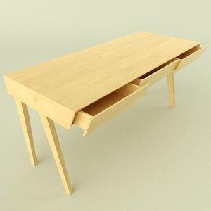 beacon desk 3d 3ds