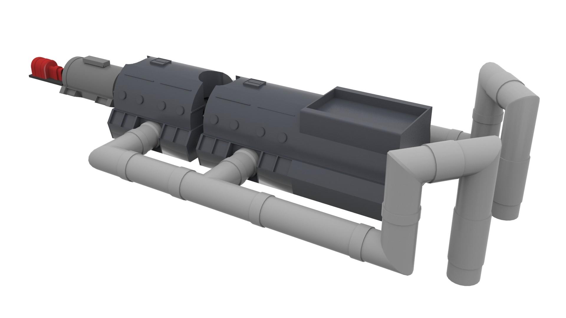 3d steam turbine