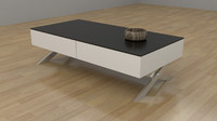 Garry Coffee Table 3d model