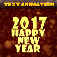 text animation happy new year ma