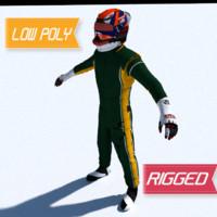 Renault Formula 1 driver