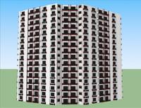 3d model floria building