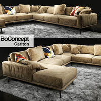 3d model sofa boconcept carlton