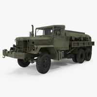 US Army Fuel Tank Truck m49 Rigged