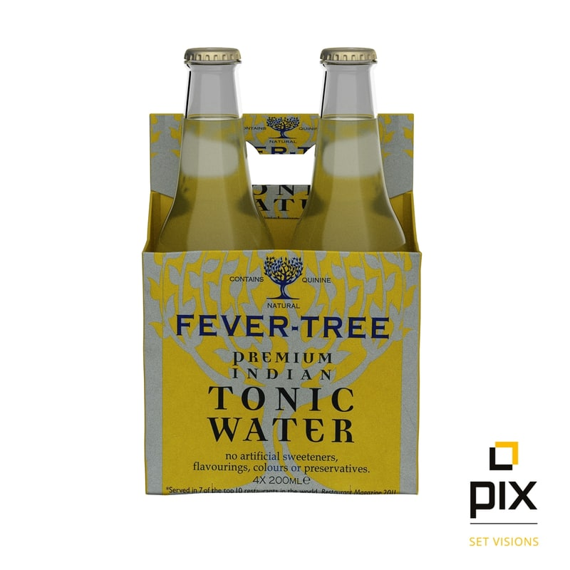 3d photorealistic bottles carrier