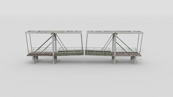 3d amsterdam bridge