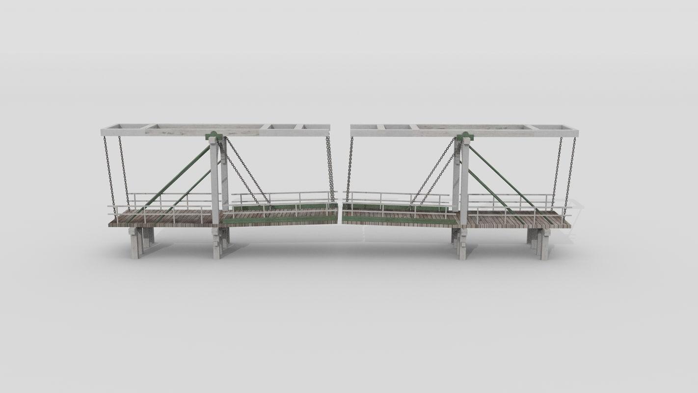 3d amsterdam bridge