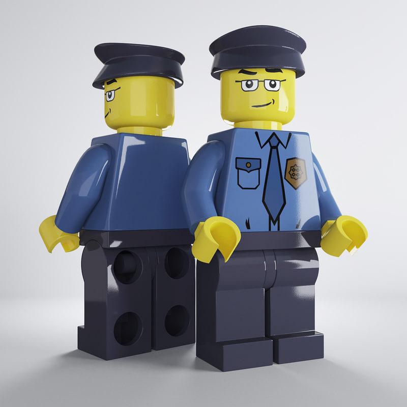 max lego policeman