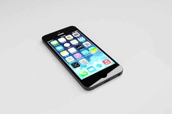3d model apple iphone