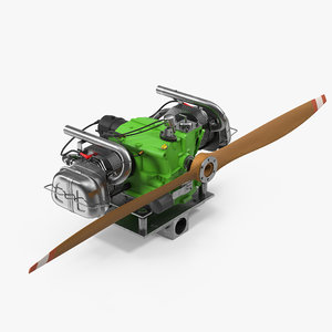 3d model chotia weedhopper engine