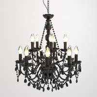 Hanging lamp Gioiello Crystal