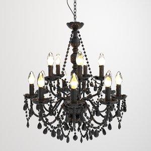 max gioiello crystal lamp