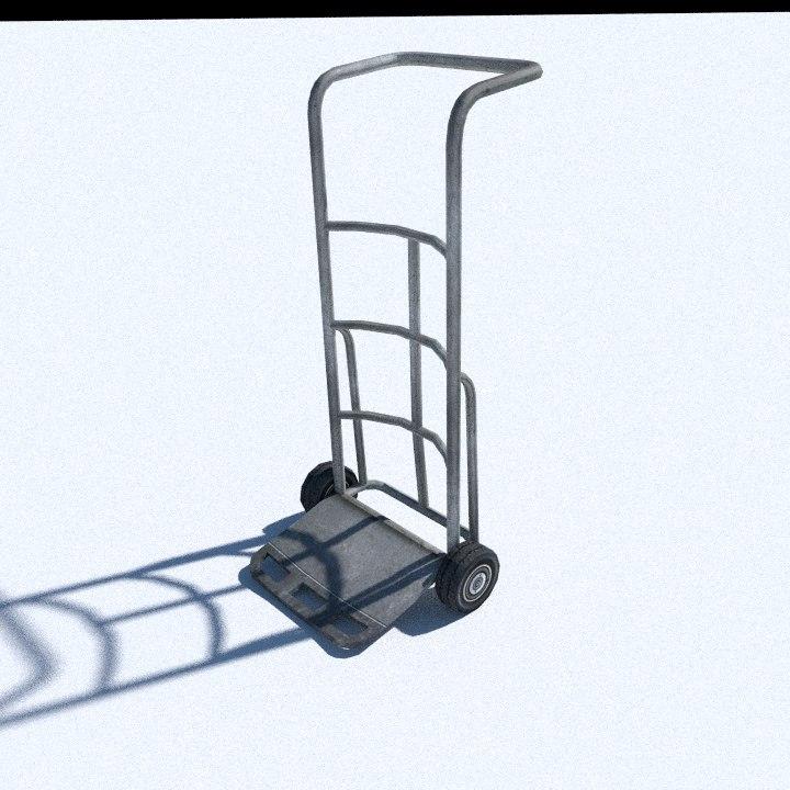 tyre trolley 3d model