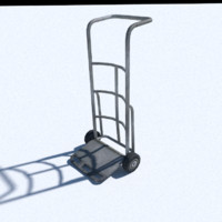 tyre trolley 3d model