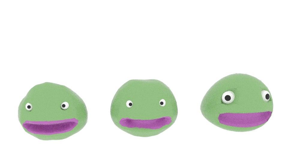 3d blobmonster blob monster