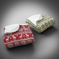 3d model scandinavian blanket fold