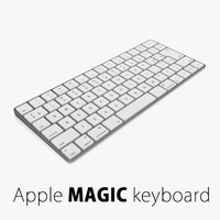 2 apple magic keyboard 3d 3ds