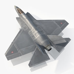 3d turkish air force lightning model