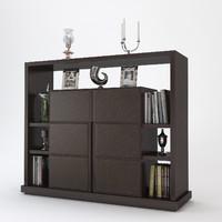 baxter leopold cabinet 3d model