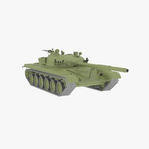 3d t-72 tank