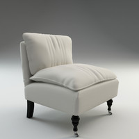 c4d katherine slipper chair