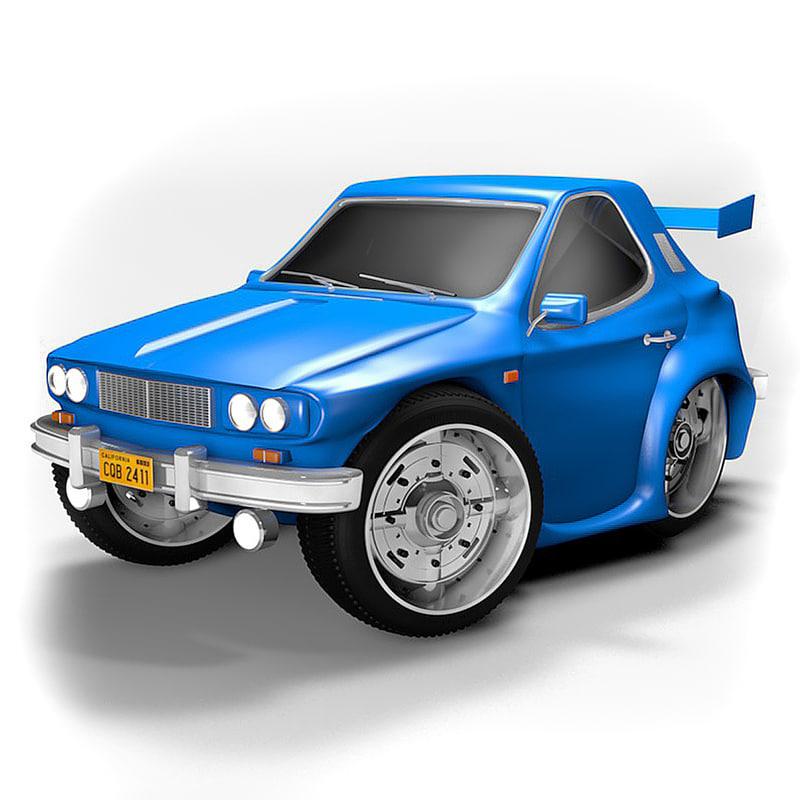 toy car 3d c4d