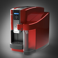 coffee maker saeco 3d model