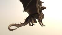 Dragon  Mesh Textures 4k