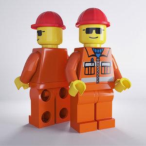 ma lego worker