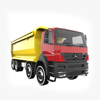 mercedes benz axor 4140 3d 3ds