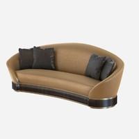 3d sofa loreto model