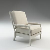 henderson chair 3d max