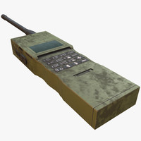 3d real-time military radio model