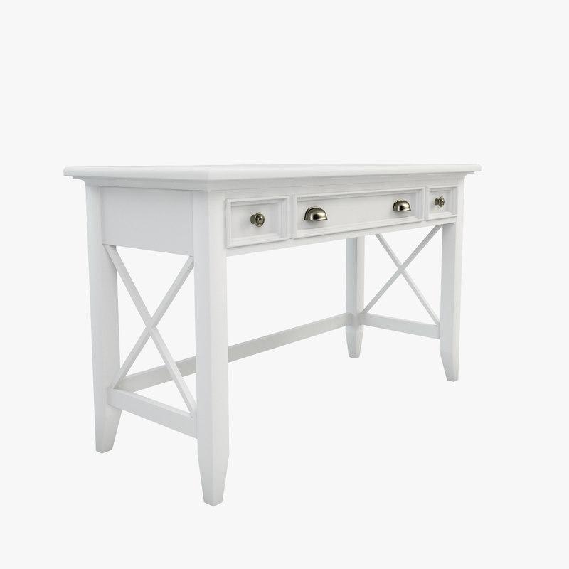 3d model wetherly writing desk