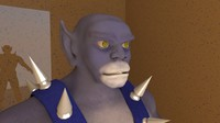 3d model panthro thundercats