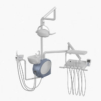 3d model dental equipment