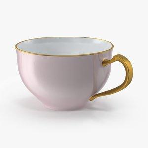 princess tea cup 3d max
