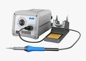 3d model soldering station pace-25 st