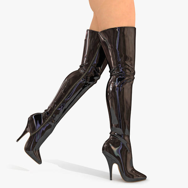 max boots realistic legs