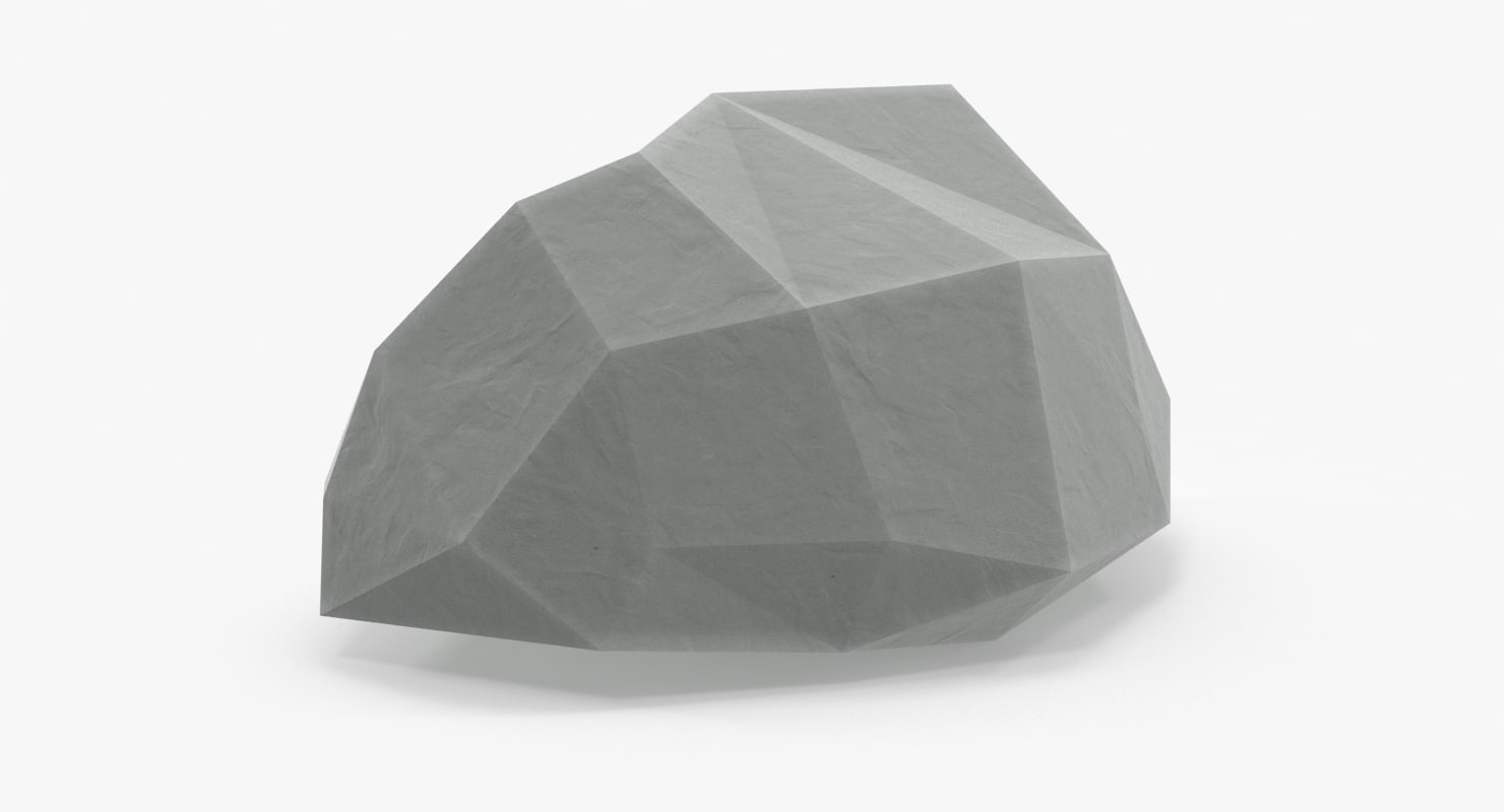 3d max rock 01