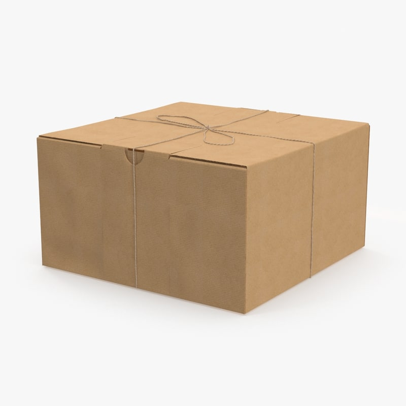 max rectangular cardboard box