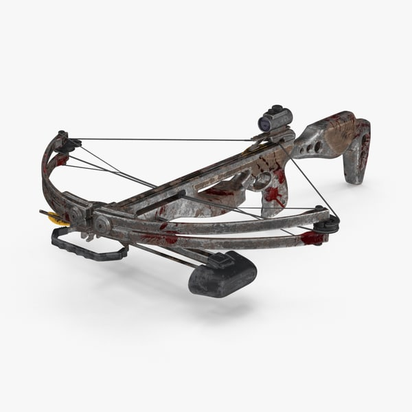 dirty crossbow 3d max