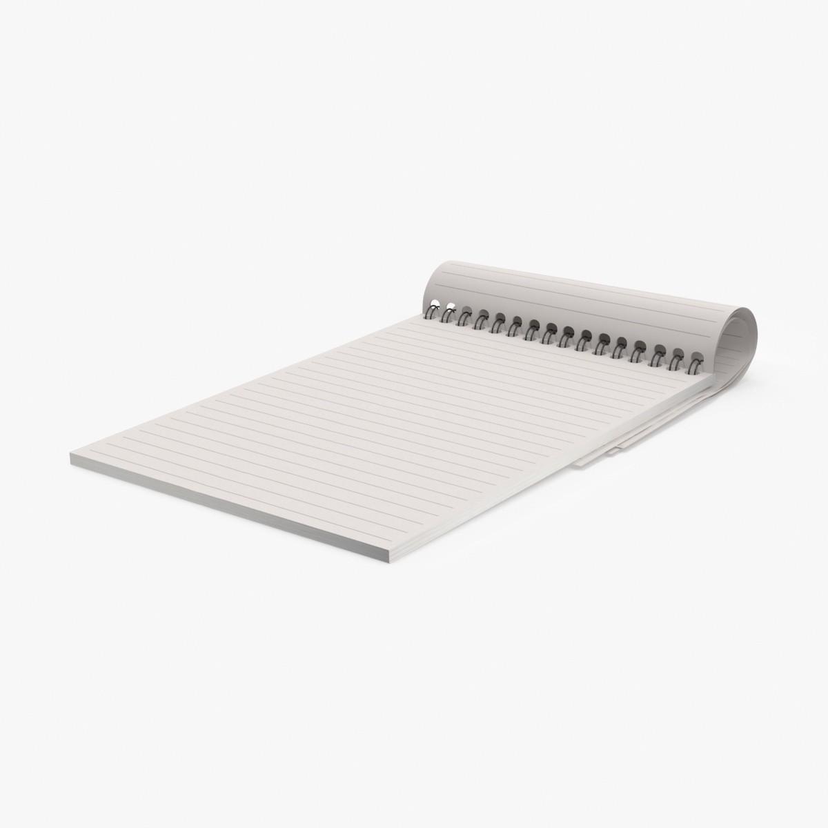 small notepad max