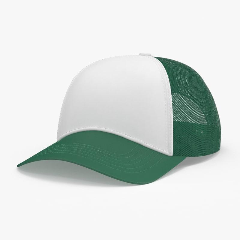3d model baseball-cap