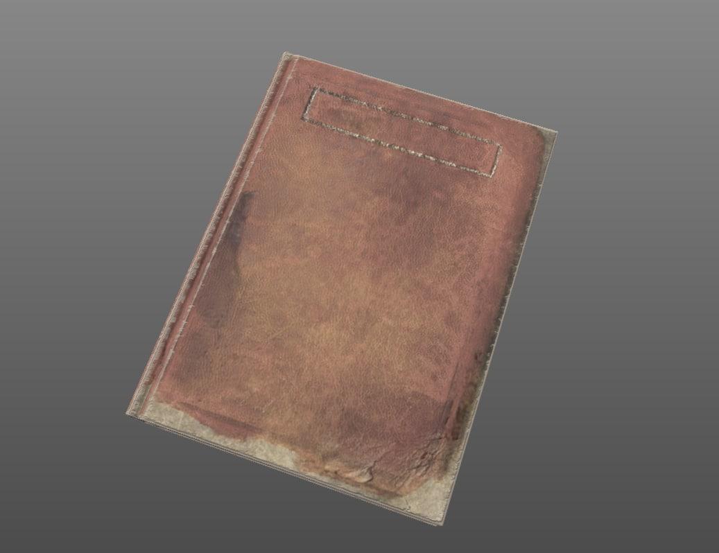 obj old book