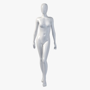 female mannequin 3d model