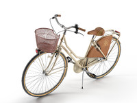 vintage bike 26 olanda 3d max
