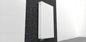 3ds radiator bathroom design