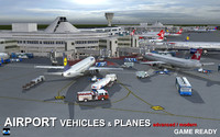 Air port Vehicles & Planes
