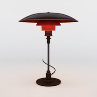 3d louis poulsen ph table lamp